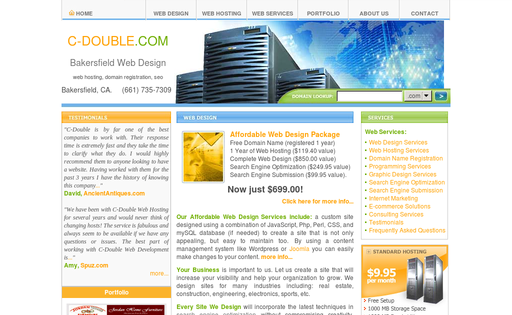 C-Double Web Development