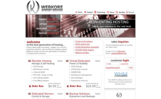 Webkore Internet Services