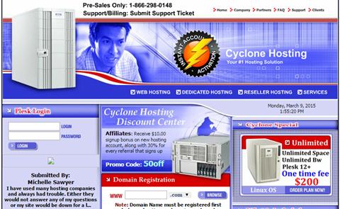 Cyclone Hosting