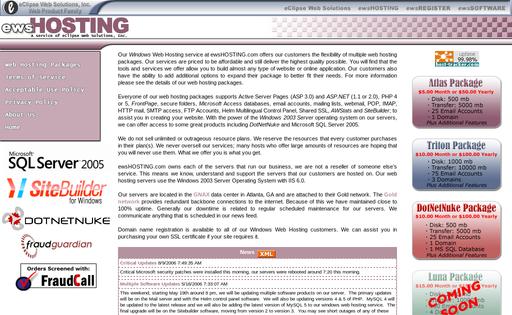 ewsHOSTING