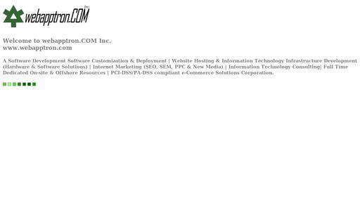 webapptron.COM Inc.