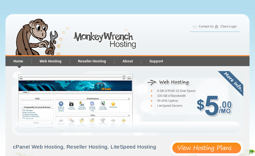 MonkeyWrench Hosting