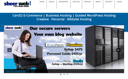 Sheer Web Host