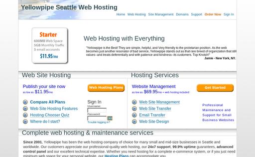 Yellowpipe Web Hosting
