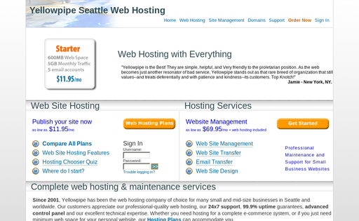 Yellowpipe Web Hosting