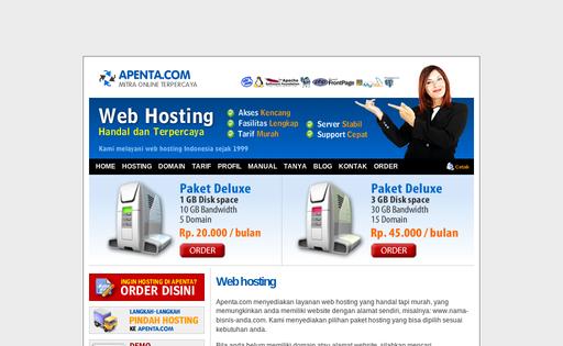 Apenta Web Service