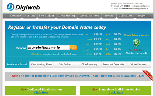 Digiweb Hosting