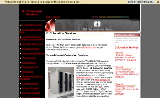 #1 Colocation Services
