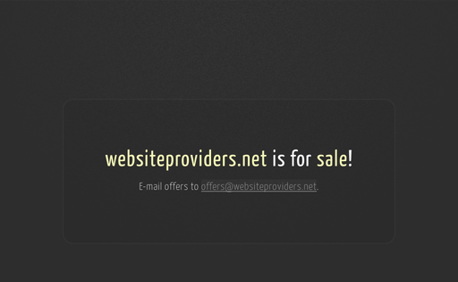 Website Providers, Inc.