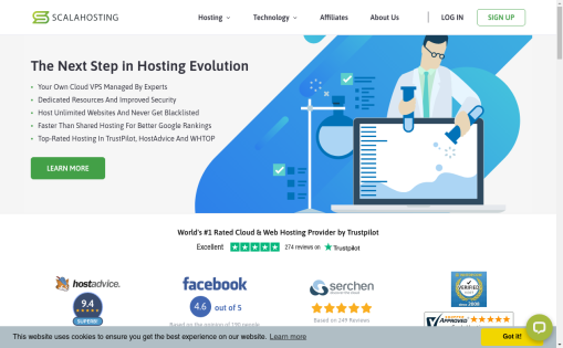 Scala Hosting Review - web hosting reviews by real users