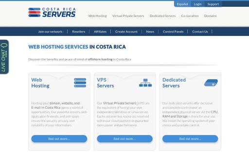 Costa Rica Servers