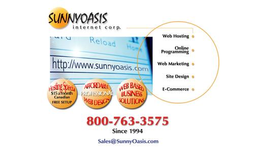 Sunny Oasis Internet Corp.