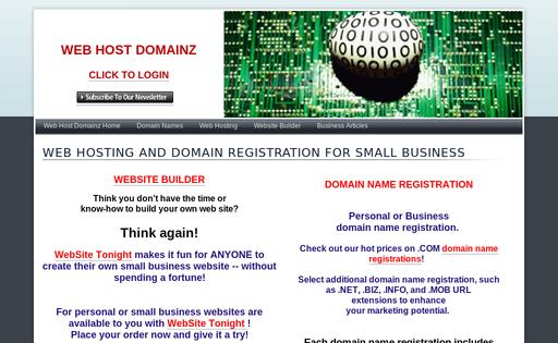 Web Host Domainz