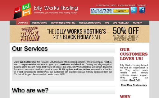 Jolly Works Hosting