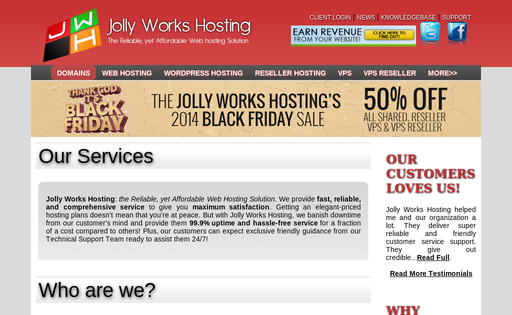 Jolly Works Hosting