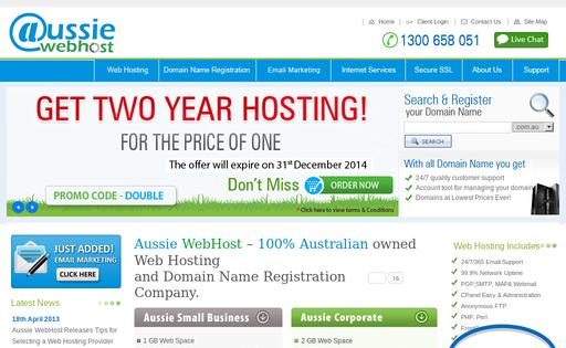 Aussie Webhost