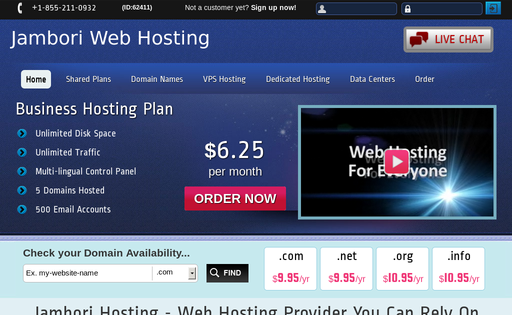 Jambori Web Hosting