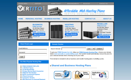 VERTITO Hosting Solutions