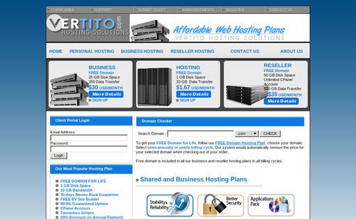 VERTITO Hosting Solutions