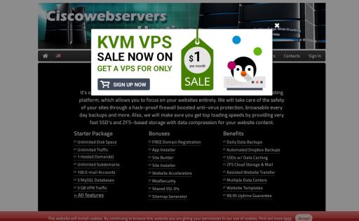 Cisco WebServers