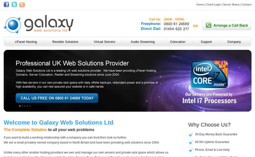 Galaxy Web Solutions Ltd