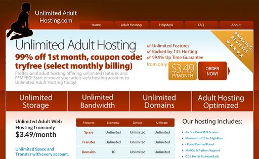 Unlimited Adult Hosting
