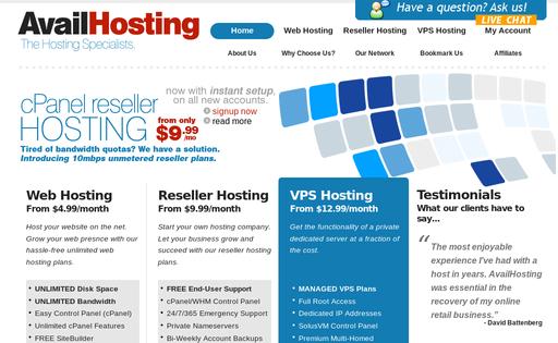 AvailHosting