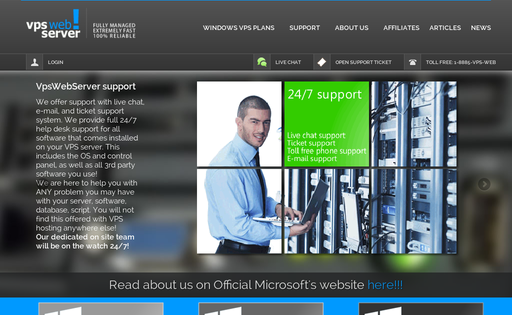 VPS Web Server
