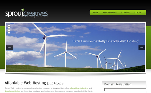 Sprout Web Hosting