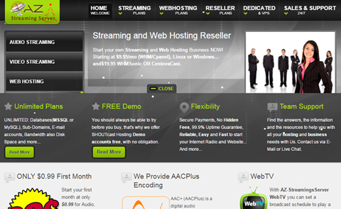 AZ-StreamingServer