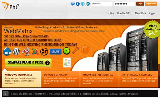 Phi 9 Web Hosting