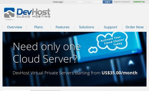 DevHost Cloud Hosting