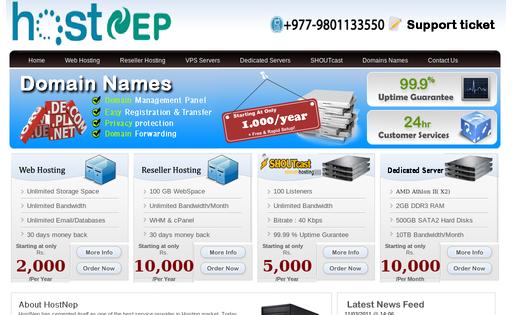 HostNep Network