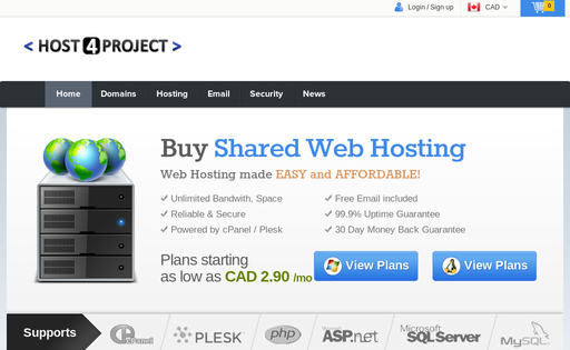 HOST 4 PROJECT