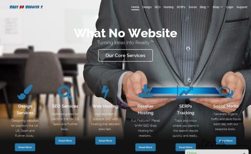 What No Website
