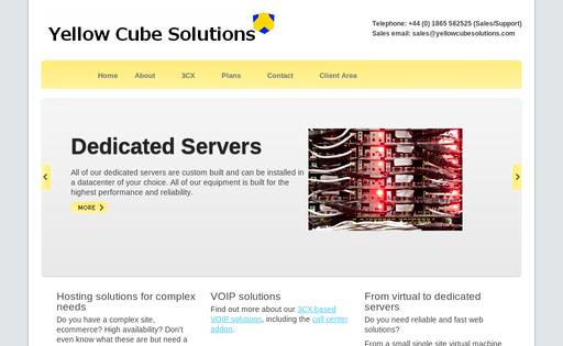 Yellow Cube Solutiona