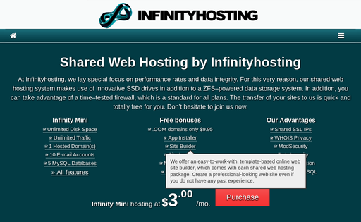 Infinityhosting