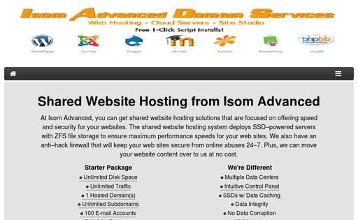Isom Advanced Domain Services