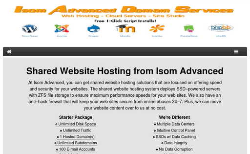 Isom Advanced Domain Services