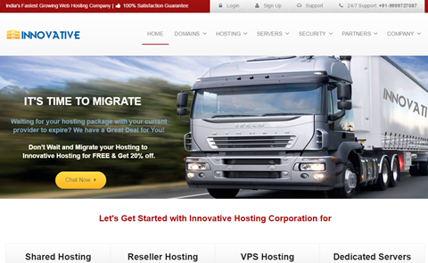 Innovative Hosting Corporation