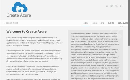 Create Azure