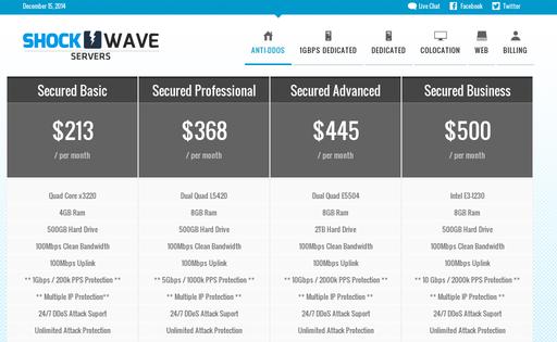 ShockWave Servers