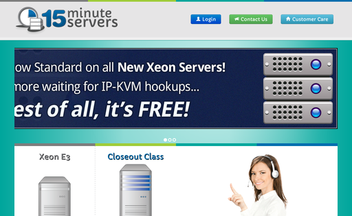 15 Minute servers