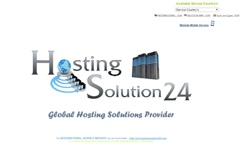 Hosting Solution 24