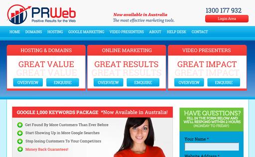 PRWeb Australia