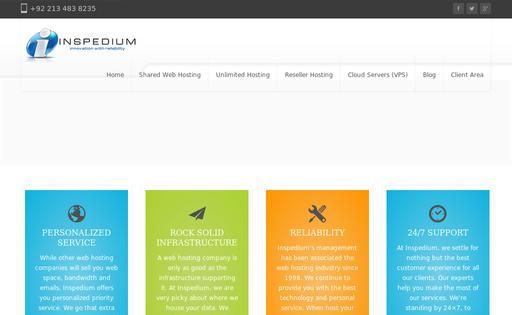 Inspedium Web Hosting