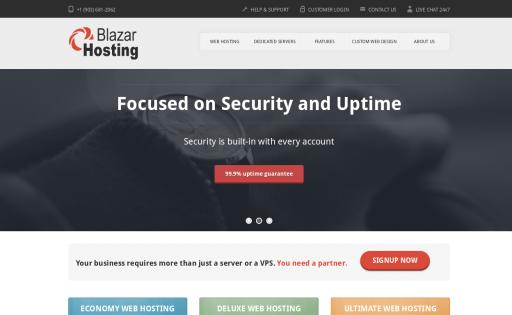 BlazarHosting.com LLC