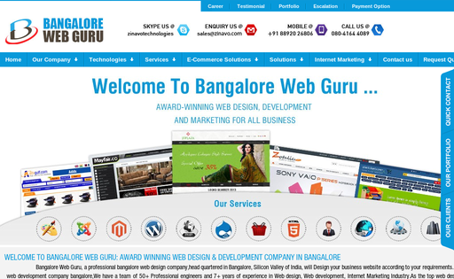 Bangalore Web Guru