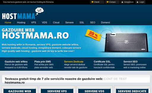 Hostmama.ro Web Hosting Romania