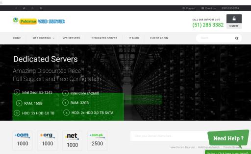 pakistan web server